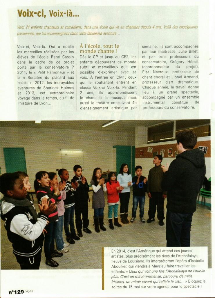 article vcvl cap meyzieu jan 2014